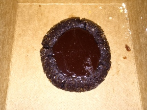 Smoked Sugar + Fudge Thumbprint