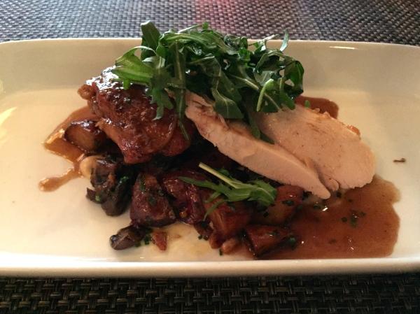 Coq au Vin - Winter Mushrooms, Red Bliss Potatoes, Cognac Red Wine Reduction