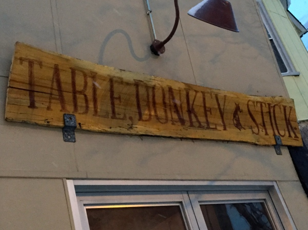 Table, Donkey and Stick