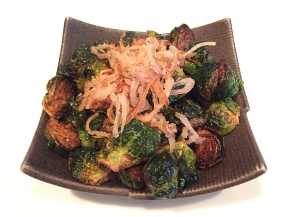 Fried Brussel Sprouts ($6)